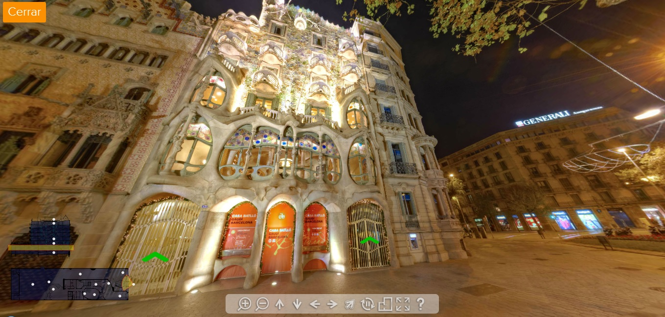 casa batllo tour virtual