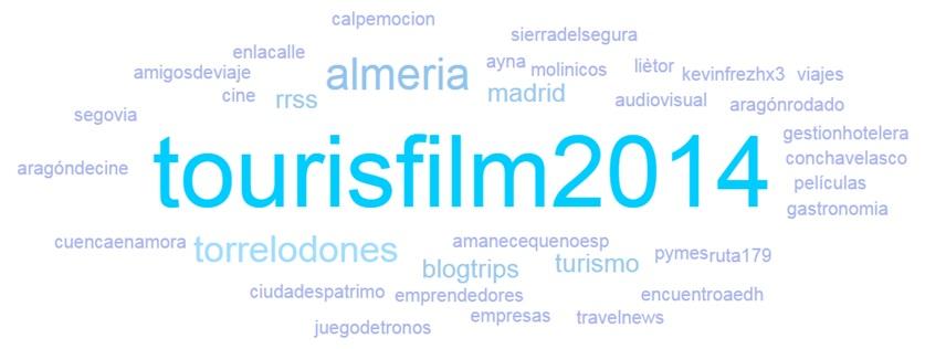 impacto redes sociales tourisfilm 2014