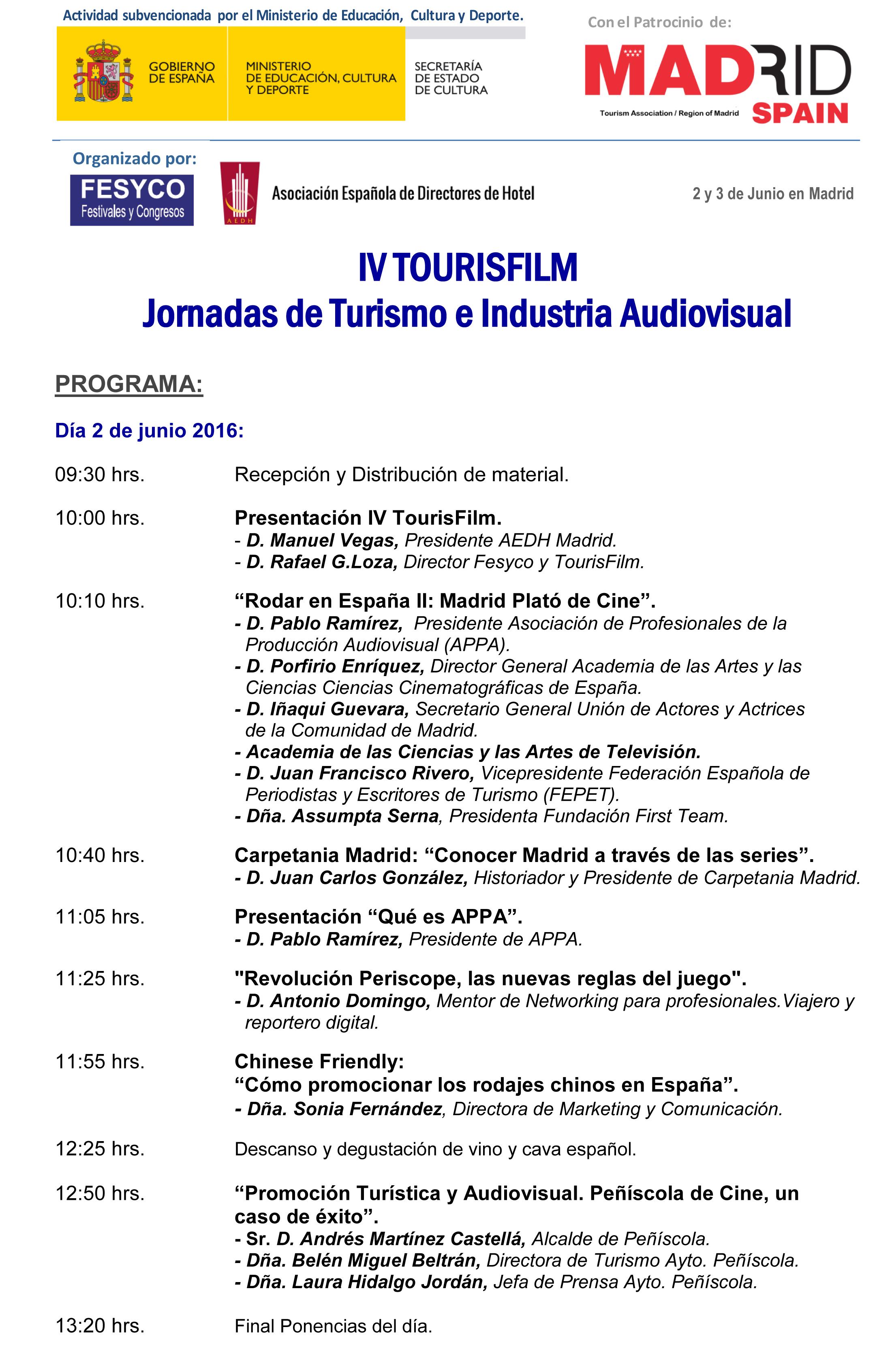 Programa IV TOURISFILM-1