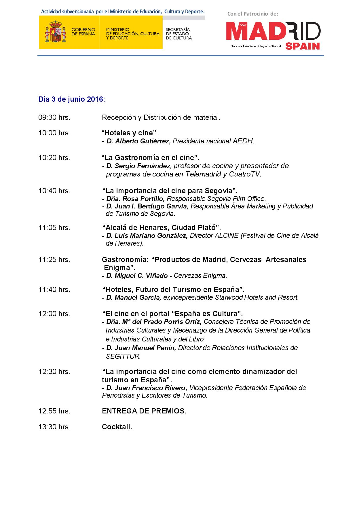 Programa IV TOURISFILM2